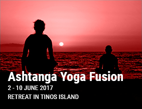 Ashtanga Yoga Fusion Retreat 2017 in Tinos Island